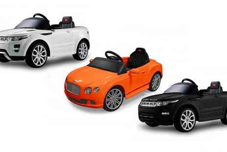 Groupon Goods Global GmbH - Childrens Ride On Electric Cars With Free Delivery - Save 28%