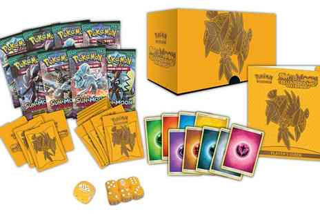 Groupon Goods Global GmbH - Pokemon Trading Card Game Sun and Moon, Guardians Rising Elite Trainer Box - Save 0%