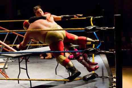 The Pemberton Centre - Extreme American Wrestling on 3 December - Save 38%