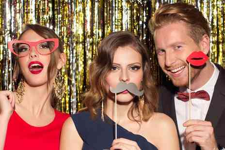 Michael Mellett Photography - Two or Three Hour Photobooth Hire with Attendant, Props and Prints - Save 36%