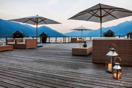 Hotel Eden Roc Ascona - Beautiful 5 Star Retreat in Ascona For Two - Save 41%