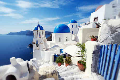 Sun Rocks - Greece Fira - Four Star Idyllic Suites with Stunning Views - Save 42%