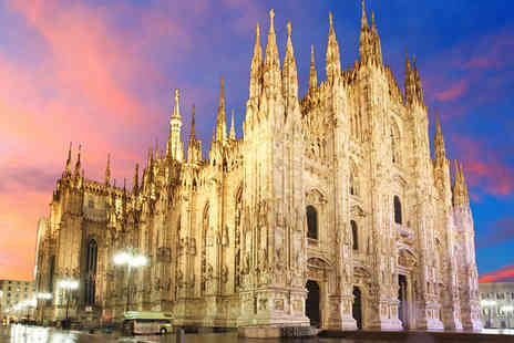 UNA Hotel Century - Four Star Modern Hotel Stay For Two in Central Milan - Save 72%