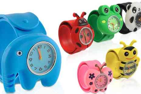 Ckent - Kids animal slap wrist watch - Save 80%