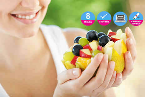Live Academy Education - Accredited online nutrition diploma course - Save 96%