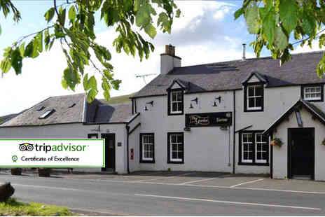 The Gordon Arms Hotel - One, two or three night stay for two, a bottle of wine and breakfast plus late check out - Save 39%