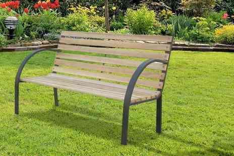 ViVo Technologies - Pembrokeshire garden bench - Save 72%