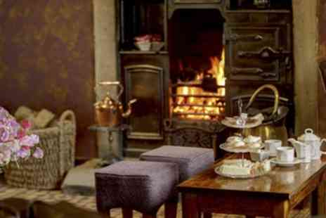 Mytton Fold Hotel - Afternoon Tea with Glass of Sherry, Wine or Prosecco for Two or Four - Save 37%