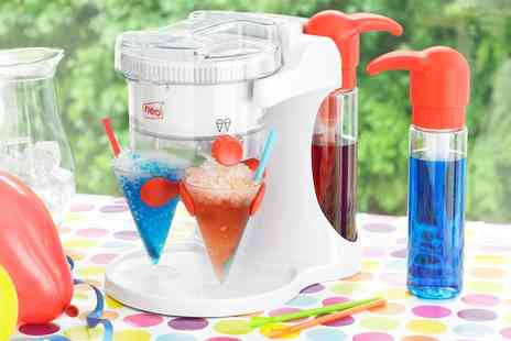 Groupon Goods Global GmbH - One or Two Neo Ice Snow Cone and Slushy Maker Machines - Save 78%