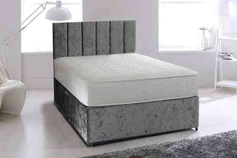 Groupon Goods Global GmbH - Sonic Semi Orthopaedic Mattress in Choice of Size With Free Delivery - Save 85%