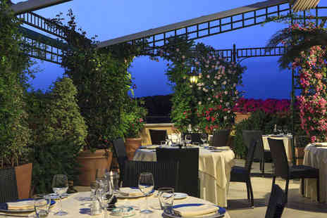 Hotel Victoria Roma - Four Star Elegant Hotel Stay For Two with Romantic Roof Garden - Save 80%