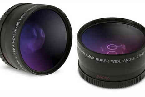 eFindbest - Wide Angle Camera Lens 52mm or 58mm for Nikon or Canon - Save 68%