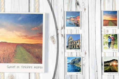 Your Perfect Canvas - Personalised Hanging Polaroid Panel - Save 77%