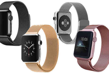eFindbest - Compatible Apple Watch Magnetic Stainless Strap - Save 65%