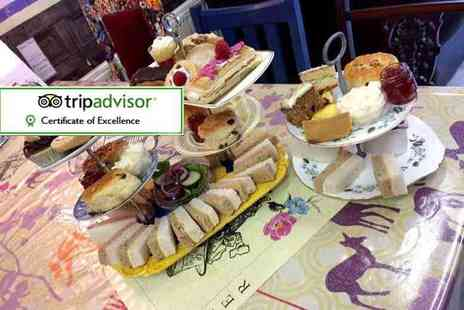 Mad as a Hatter - Afternoon tea with soup for two - Save 36%