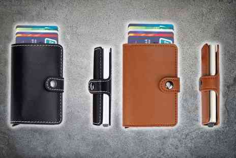 DM Logistic Solutions - RFID blocking credit card wallet - Save 76%