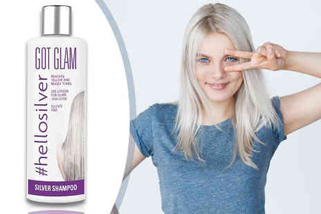 Blush Look - 250ml bottle of Got Glam hellosilver silverising shampoo - Save 80%