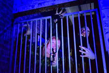 Lockdown Escape Exit Games - Entrance to Evans Haunted House for one or two - Save 50%