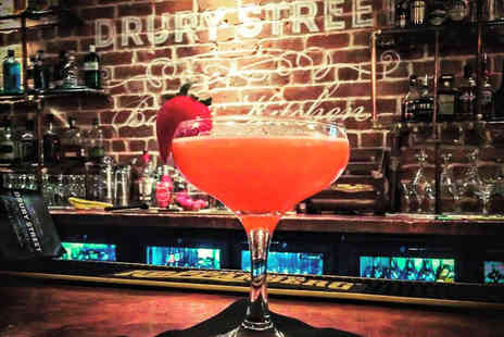 Drury Street Bar and Kitchen - Two cocktails and two portions of cheesenutz for two or four - Save 64%