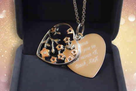 Gifts Online 4 U - Personalised Tree of Life necklace and gift box - Save 47%