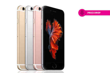 Renew Electronics - 16GB or 64GB Apple iPhone choose from four colours - Save 30%