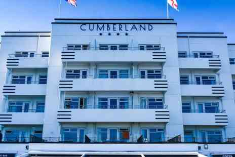 The Cumberland Hotel - One or Two Nights Stay for Two with Breakfast and Two Course Dinner - Save 49%
