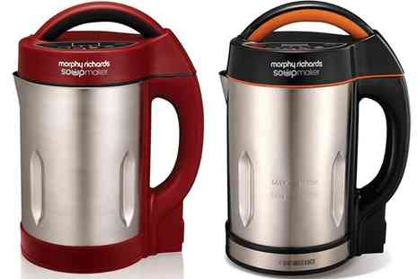 Groupon Goods Global GmbH - Morphy Richards Soup Maker in Choice of Colour With Free Delivery - Save 55%
