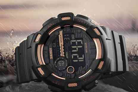 Groupon Goods Global GmbH - SKMEI Digital Watches in Choice of Colour - Save 57%