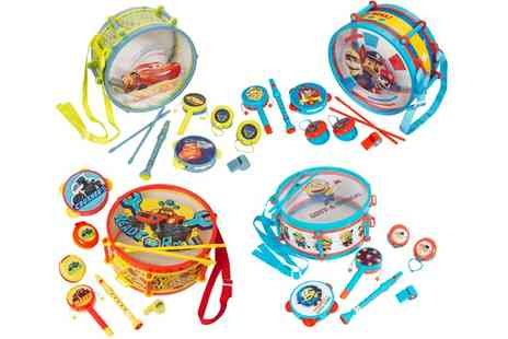 Groupon Goods Global GmbH - Sambro International Musical Instrument Drum Kit for Kids - Save 38%