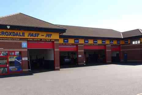Croxdale Fast Fit - Mot Test with Optional Service, Oil and Filter Change - Save 50%