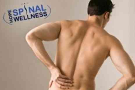 Hope Spinal Wellness - Chiropractic Consultation, Follow Up Treatment and Sports Massage - Save 72%