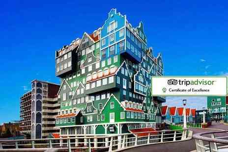 Crystal Travel - Two or three night 4 Star Amsterdam spa stay with flights - Save 30%