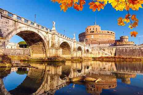 Weekender Breaks - Two or three night 4 Star Rome break with flights and coach transfers - Save 32%