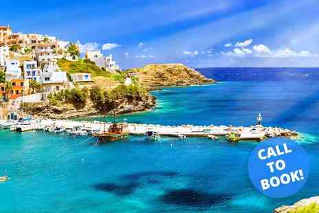 Super Escapes Travel - Seven night, all inclusive 5 Star Crete, Greece stay with return flights - Save 25%