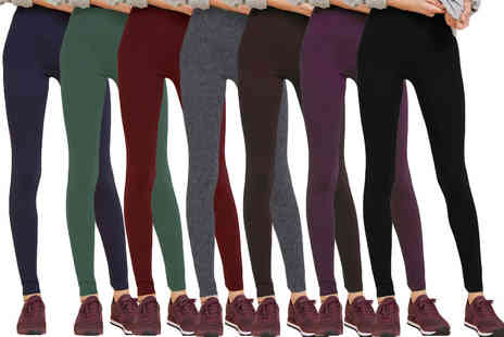 Nothing New 2 Wear - Seven pack of coloured leggings - Save 80%