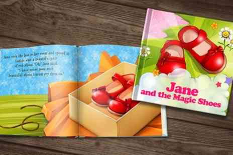 Dinkleboo - Soft or Hardcover Personalised Childrens Storybook - Save 73%