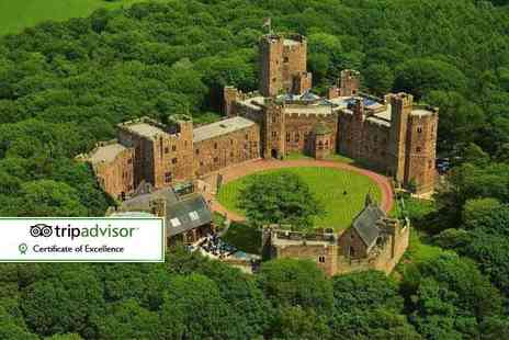 Peckforton Castle - Spa day for one including two 25 minute treatments and a glass of Prosecco - Save 30%