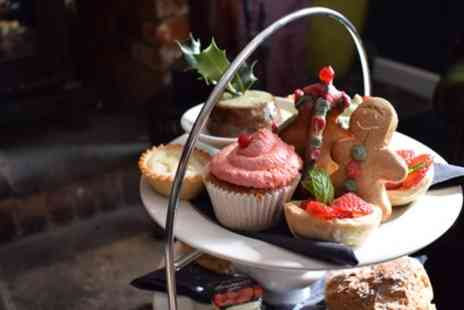 The Stag - Festive Afternoon Tea with Prosecco for Two or Four - Save 70%