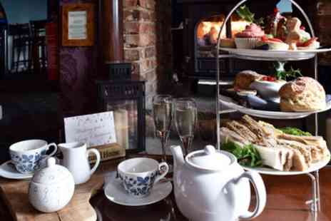 The Command House - Festive Afternoon Tea with Prosecco for Two or Four - Save 68%