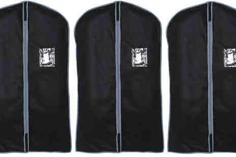 TLD Marketing - Pack of 3 Protective 40 Inch Suit Covers - Save 28%
