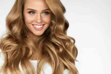 Hudson Hair - Haircut, blow dry and conditioning treatment or upgrade and include a roots colouring treatment - Save 70%
