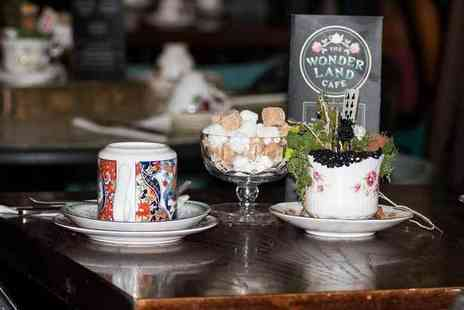 Wonderland Cafe - Mad Hatter untraditional afternoon tea for two - Save 0%