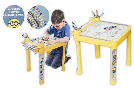 Vinsani - Despicable Me Minions colouring table - Save 62%