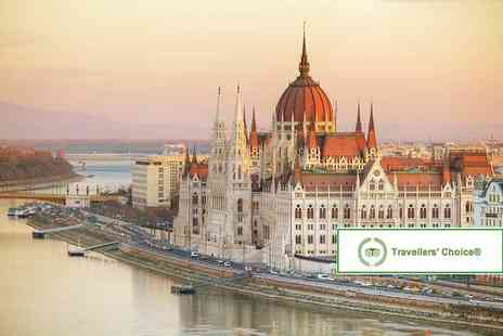 Super Escapes Travel - Two night 4 Star Budapest spa break with flights - Save 51%