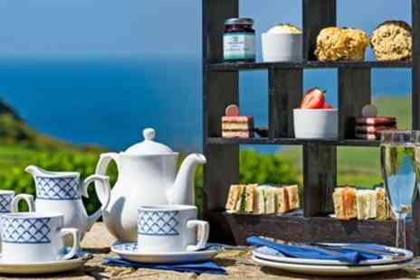 Soar Mill Cove Hotel - Champagne afternoon tea with spa access in Devon - Save 51%