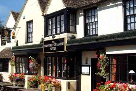 Deddington Arms Hotel - 16th century inn stay with dinner - Save 0%