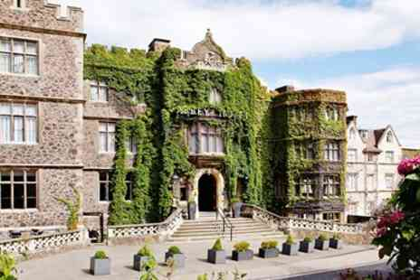 The Abbey Hotel - Great Malvern escape with dinner & wine - Save 0%