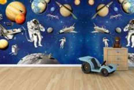 iQue - Walltastic Space Adventure mural  - Save 67%