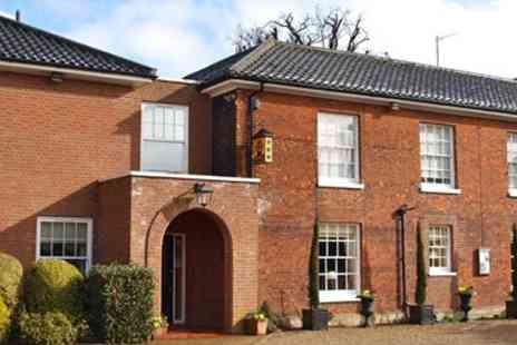 Beechwood Hotel - Norfolk country house escape with cream tea - Save 0%