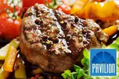 The Pavilion - Two Course Lunch For Two - Save 54%